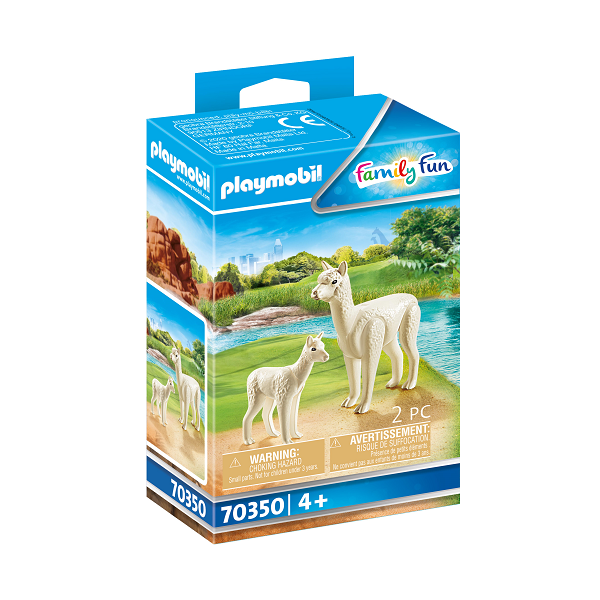 Image of Alpaka med baby - PL70350 - PLAYMOBIL Family Fun (PL70350)