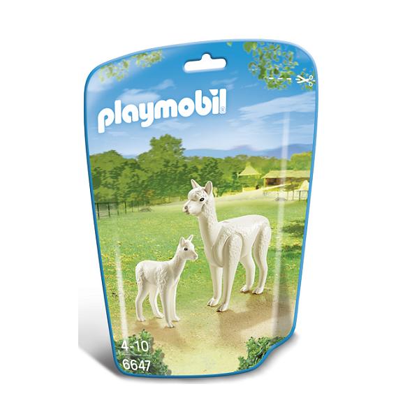 Image of   Alpaka med unge - PL6647 - PLAYMOBIL Wild Life
