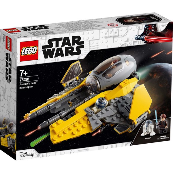 Image of Anakins Jedi Interceptor - 75281 - LEGO Star Wars (75281)