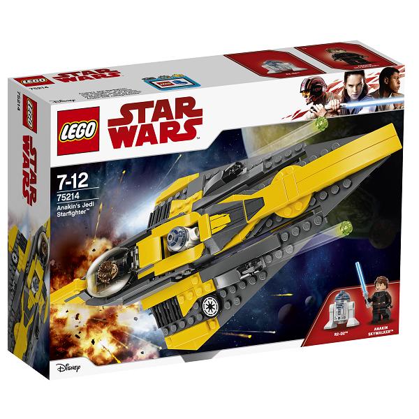 Image of Anakins Jedi-stjernejager - 75214 - LEGO Star Wars
