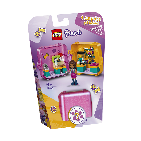 Image of   Andreas butikslegeboks - 41405 - LEGO Friends