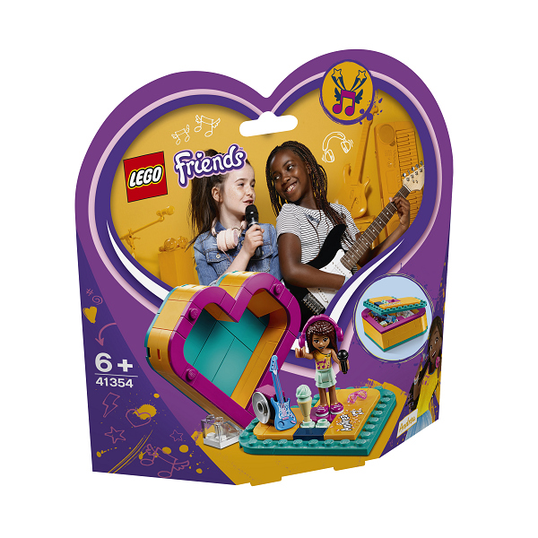 Image of Andreas hjerteæske - 41354 - LEGO Friends (41354)