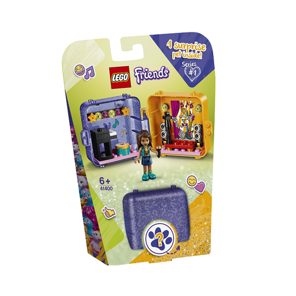 Image of   Andreas legeboks - 41400 - LEGO Friends