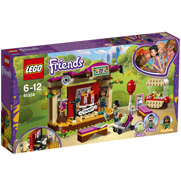 Image of   Andreas parkoptræden - 41334 - LEGO Friends