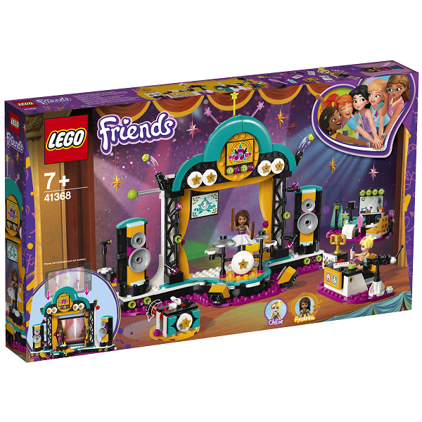 Image of   Andreas talentshow - 41368 - LEGO Friends