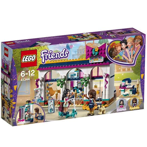 Image of   Andreas tilbehørsbutik - 41344 - LEGO Friends