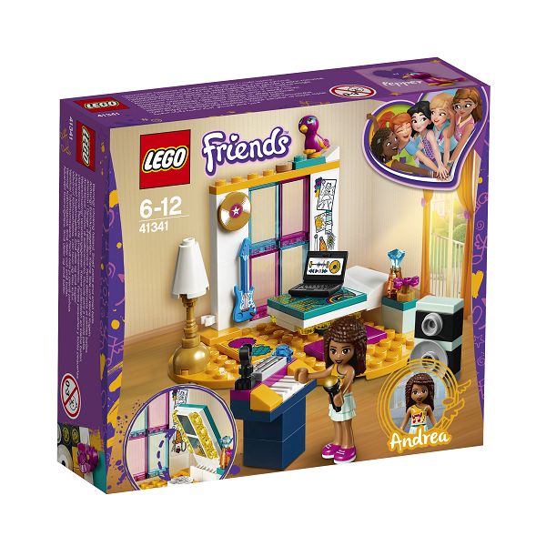 Image of   Andreas værelse - 41341 - LEGO Friends