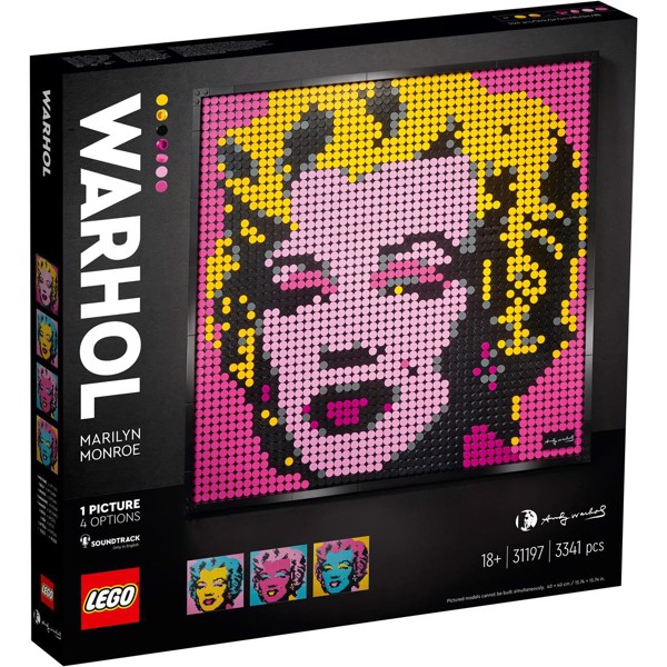 Image of Andy Warhol's Marylin Monroe - 31197 - LEGO Art (31197)