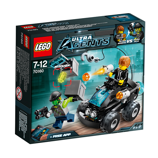 Image of   Angreb på flodbredden - 70160 - LEGO Ultra Agents