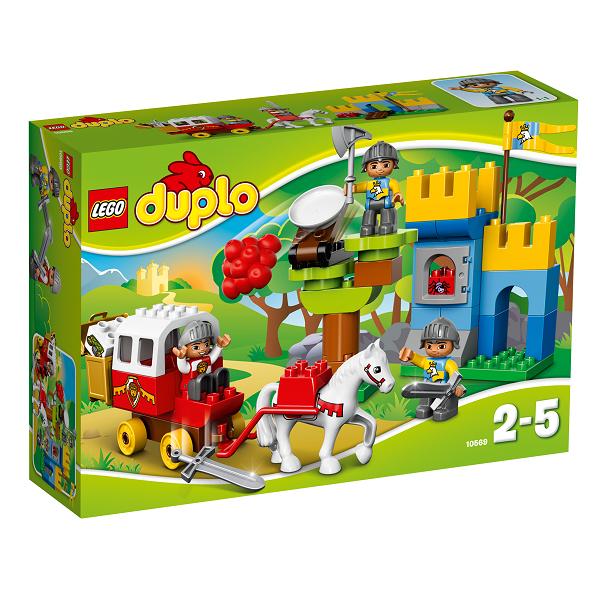 Image of   Angreb på skattetransporten - 10569 - DUPLO Lego Ville