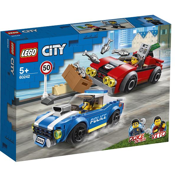 Image of   Anholdelse i trafikken - 60242 - LEGO City