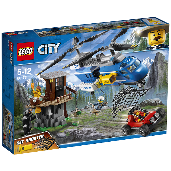 Image of   Jagt på grusvejen - 60172 - LEGO City