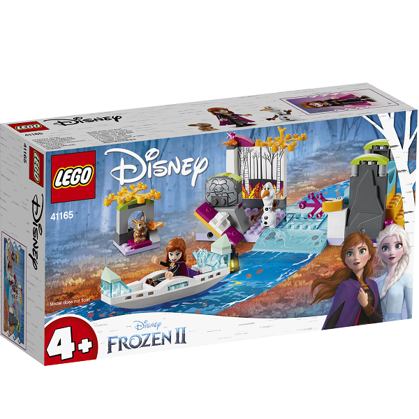 Image of   Annas kanoekspedition - 41165 - LEGO Disney