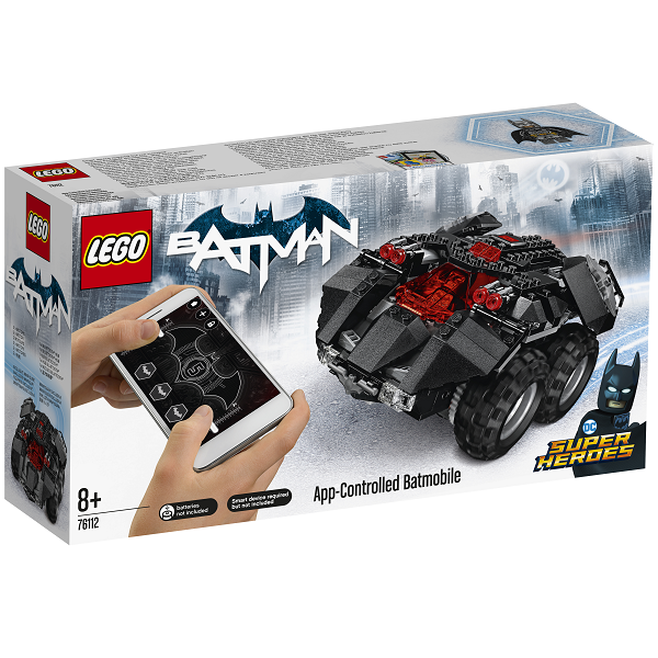 Image of App-Controlled Batmobile - 76112 - LEGO Super Heroes (76112)