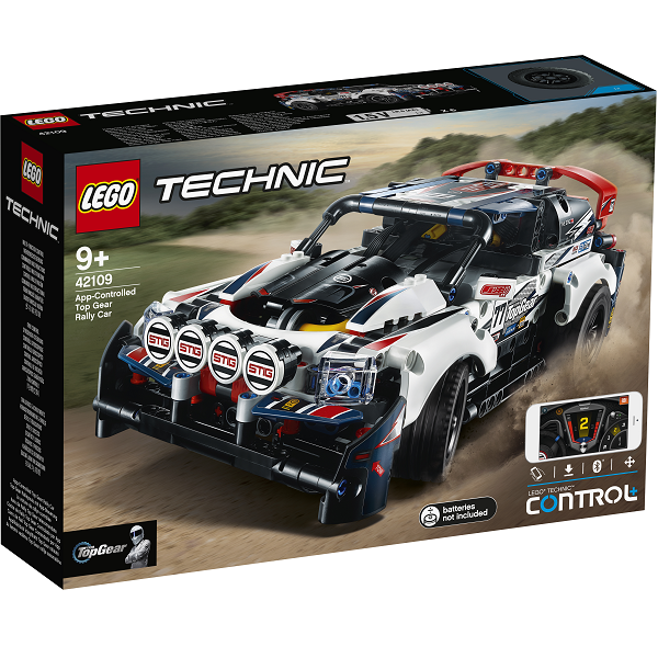 Image of   App-styret Top Gear-rallybil - 42109 - LEGO Technic