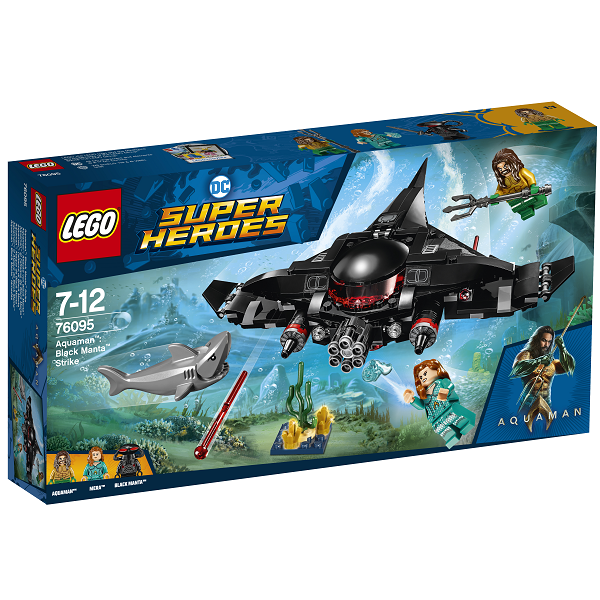Image of   Aquaman: Black Mantas angreb - 76095 - LEGO Super Heroes