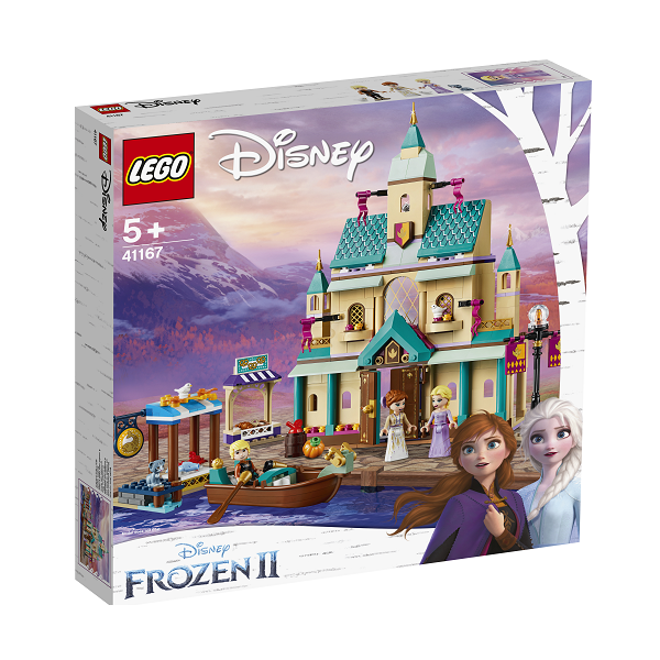 Image of   Arendal slotsby - 41167 - LEGO Disney