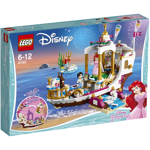 Image of   Ariels royale festbåd - 41153 - LEGO Disney Princess