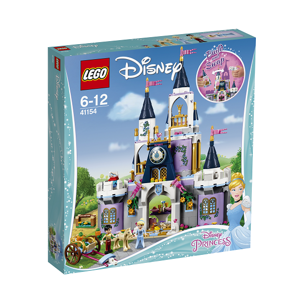 Image of   Askepots drømmeslot - 41154 - LEGO Disney Princess