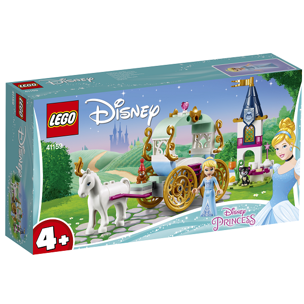 Image of Askepots karettur - 41159 - LEGO Disney Princess (41159)
