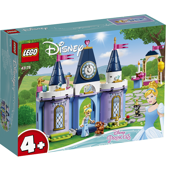 Image of   Askepots slotsfest - 43178 - LEGO Disney