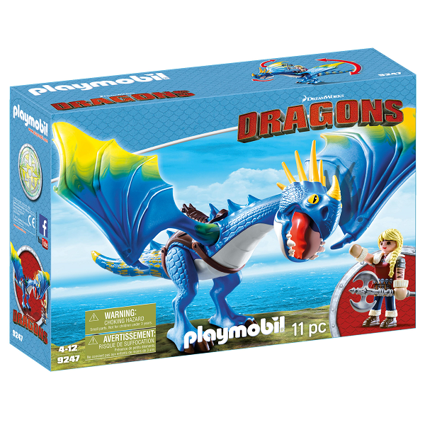 Image of Astrid og Stormflugt - PL9247 - PLAYMOBIL Dragons (PL9247)