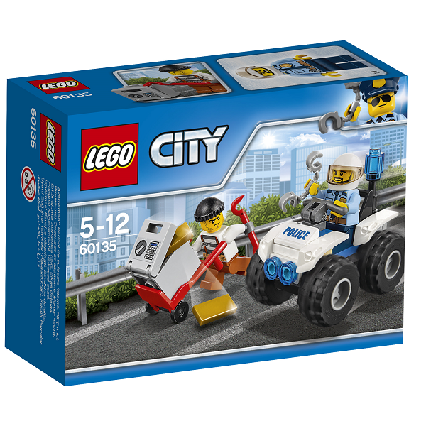 Image of   ATV-anholdelse - 60135 - LEGO City