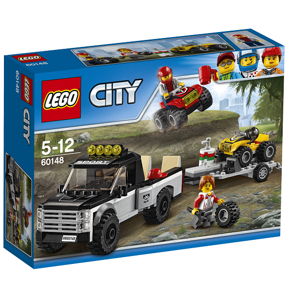 Image of   ATV-racerteam - 60148 - LEGO City