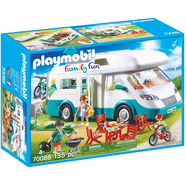 Image of   Autocamper - PL70088 - PLAYMOBIL Family Fun