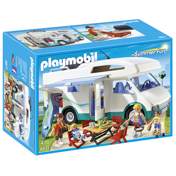 Image of Autocamper - PL6671 - PLAYMOBIL Summer Fun (PL6671)