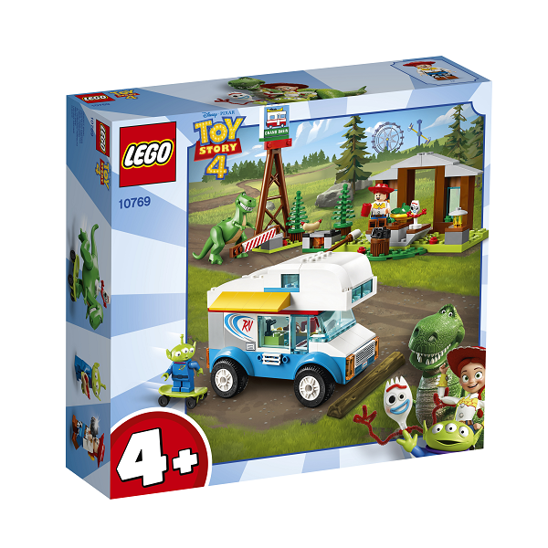 Image of   Autocamperferie - 10769 - LEGO Toy Story 4