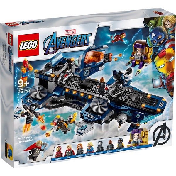 Image of Avengers helicarrier - 76153 - LEGO Super Heroes (76153)