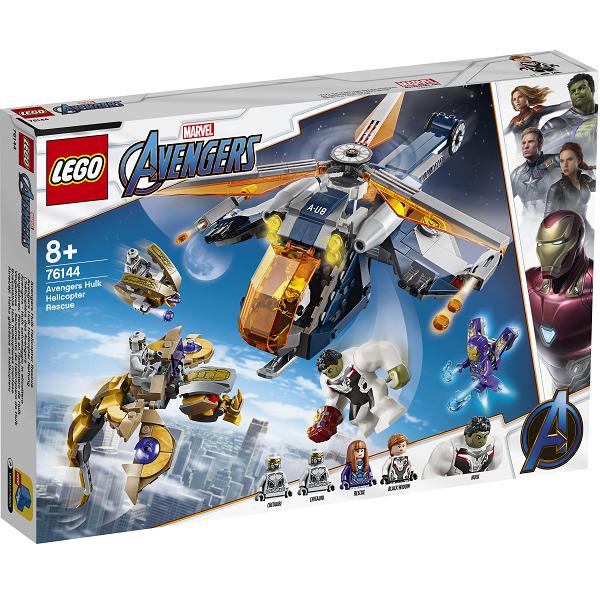 Image of Avengers Hulk-helikopterredning - 76144 - LEGO Super Heroes
