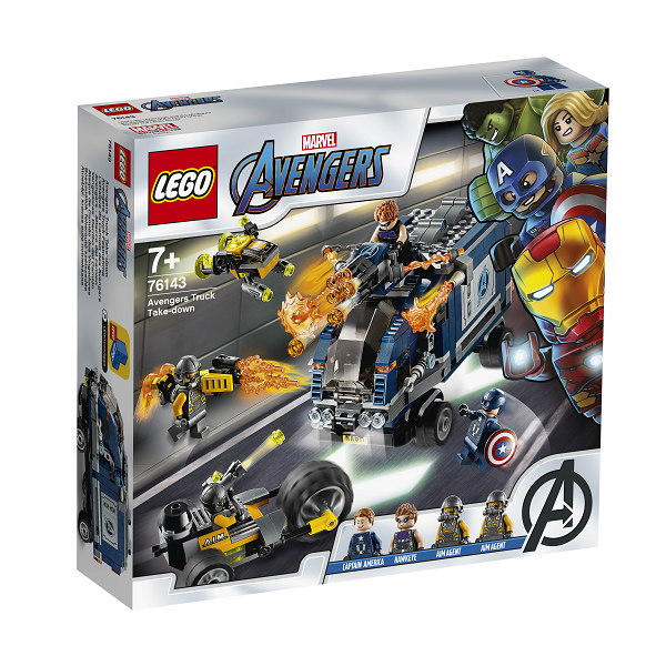 Image of Avengers lastbilsangreb - 76143 - LEGO Super Heroes (76143)