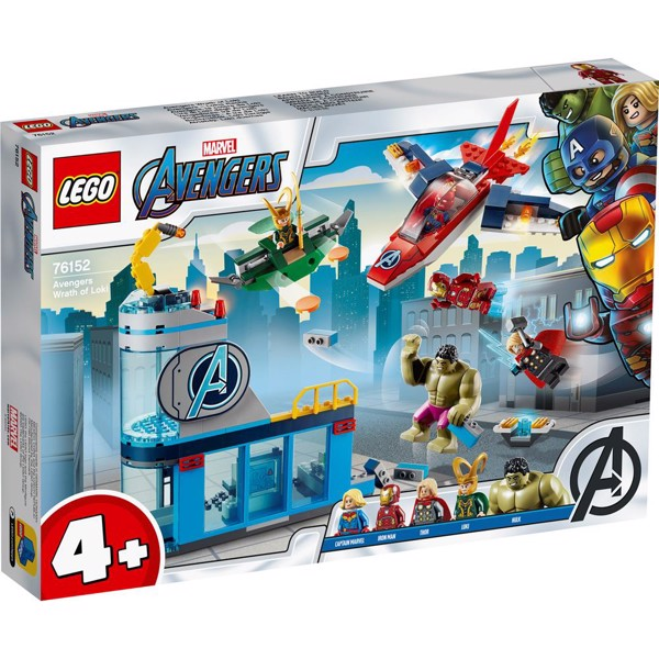 Image of Avengers - Lokes vrede - 76152 - LEGO Super Heroes (76152)