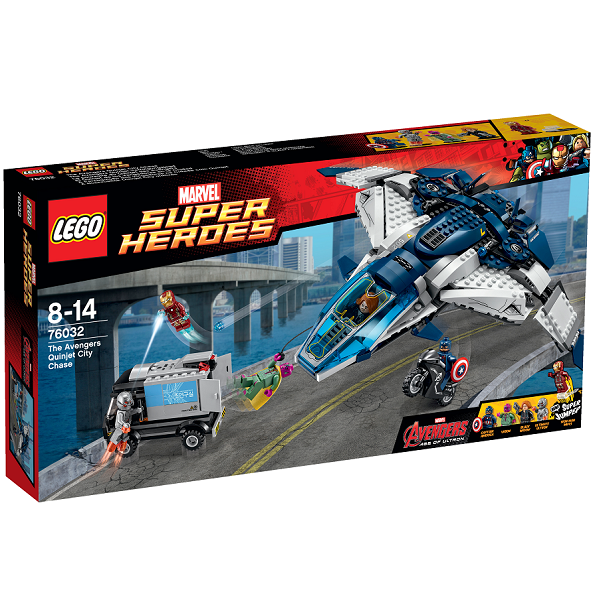 Image of   Avengers quinjet kampen i byen - 76032 - LEGO Super Heroes