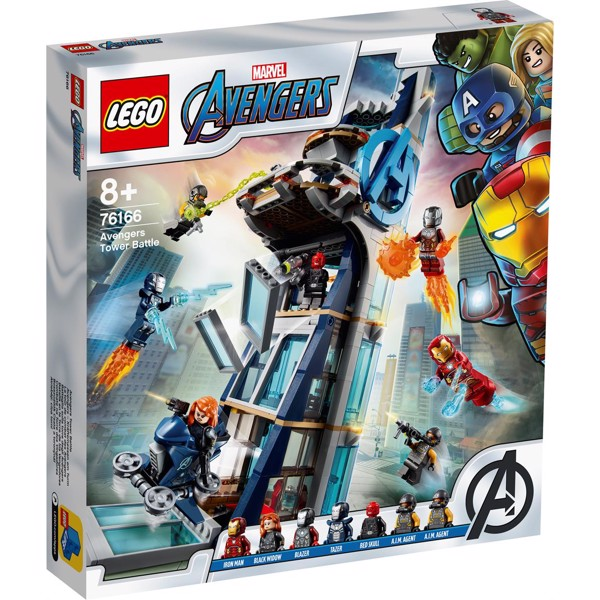 Image of Avengers Tower Battle - 76166 - LEGO Super Heroes (76166)