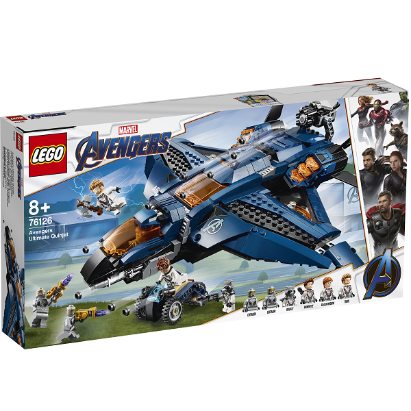 Image of Avengers ultimative quinjet - 76126 - LEGO Super Heroes (76126)