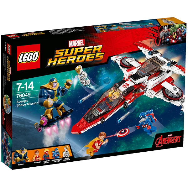 Image of   Avenjet rummission - 76049 - LEGO Super Heroes