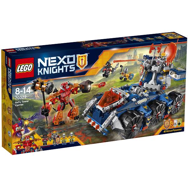 Image of   Axls tårnbærer - 70322 - LEGO NEXO Knights