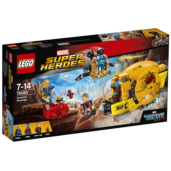 Image of   Ayeshas hævn - 76080 - LEGO Super Heroes