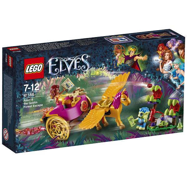 Image of   Azari og flugten fra gnomskoven - 41186 - LEGO Elves