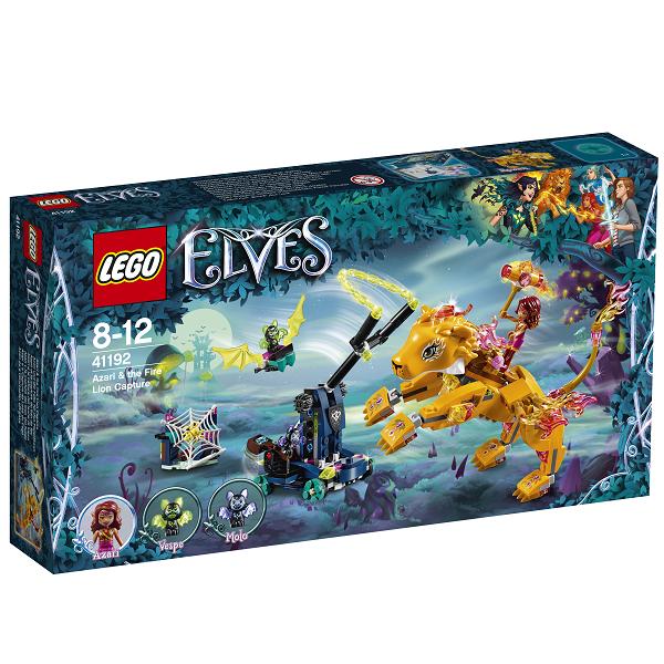 Image of   Azari og ildløvens tilfangetagelse - 41192 - LEGO Elves