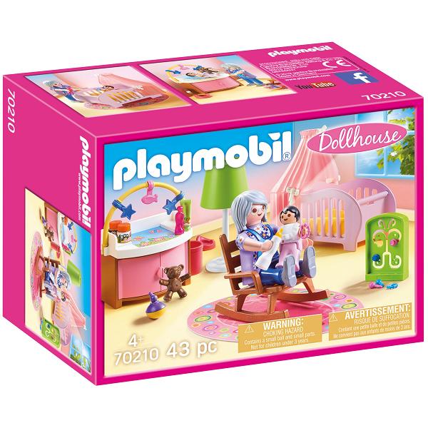 Image of   Babyværelse - PL70210 - PLAYMOBIL Dollhouse