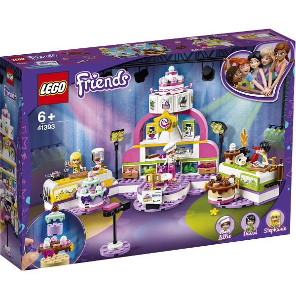 Image of   Bagekonkurrence - 41393 - LEGO Friends