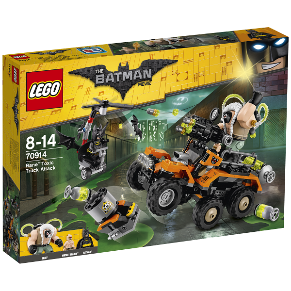 Bane giftlastbilsangreb - 70914 - THE LEGO BATMAN MOVIE
