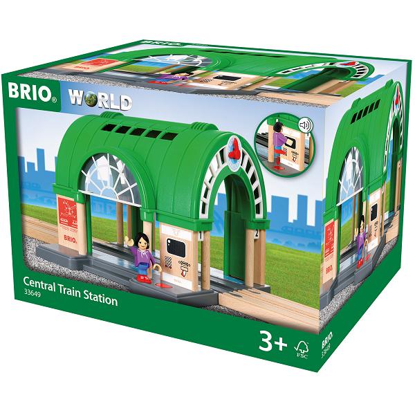 Banegård - 33649 - BRIO Tog-tilbehør