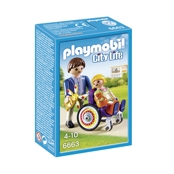 Image of   Barn i kørestol - PL6663 - PLAYMOBIL City Life