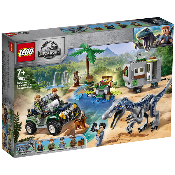 Image of Baryonyx-kamp: Skattejagten - 75935 - LEGO Jurassic World (75935)