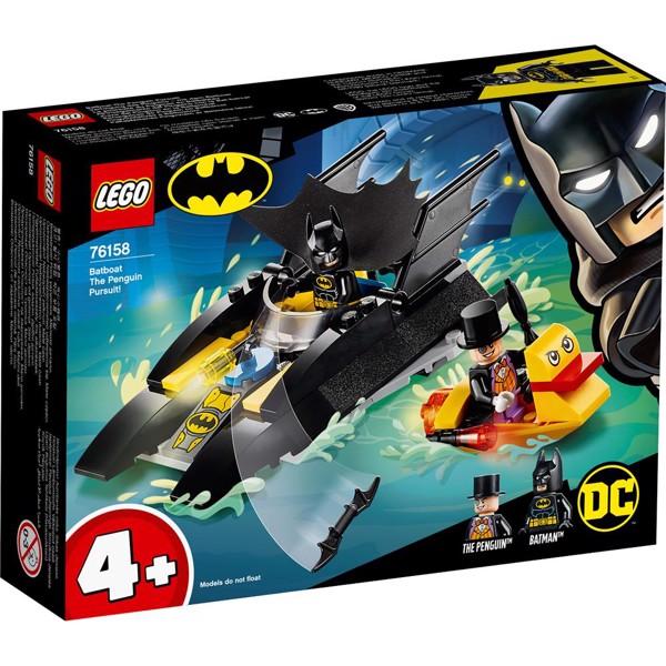 Image of Batbåd - Pingvinjagten! - 76158 - LEGO Super Heroes (76158)